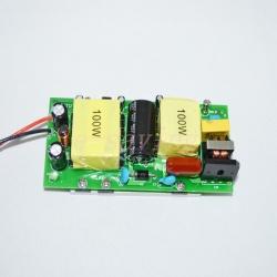 100W LED драйвер + 10 10W светодиодов