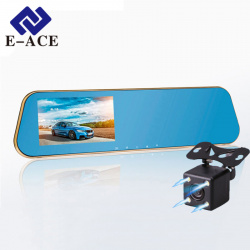Full-HD-Car-Dvr-Digital-Video-Recorder-Auto-Blue-Rear-view-Dual-Lens-Camera-Rearview-Mirror