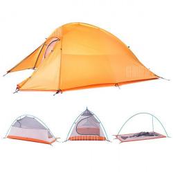 Ультралегкая палатка <b>Naturehike Cloud Up</b> 2, титановая горелка ...