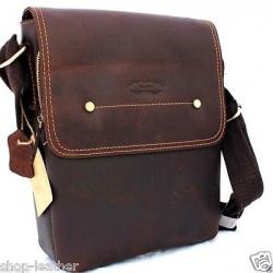 Мужская сумка из натуральной кожи (Израиль) 2643b2e0816