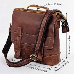 Мужские сумки из толстой натуральной кожи