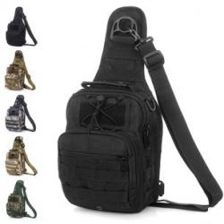 Тактическая сумка-рюкзак на одно плечо типа слинг рюкзак trend line хатико