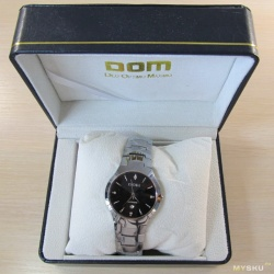 Наручные часы мужские DOM – царапаем 47482c3c935bc