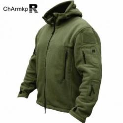 cd72845fa00 Флисовая куртка в милитари стиле