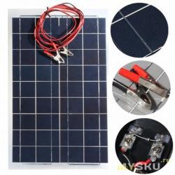 Как подобрать солнечную батарею для зарядки аккумулятора