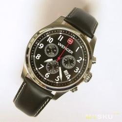 Швейцарские часы-хронограф Wenger в стиле Swiss Military f837e812710b0