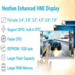 Nextion Enhanced 3 5'' — обновленная версия всем известной