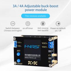 Fnirsi DC-DC/CC-CV преобразователь напряжения или маленький лабораторный источник питания на 4A 50Вт (по факту 4.7А/60Вт)