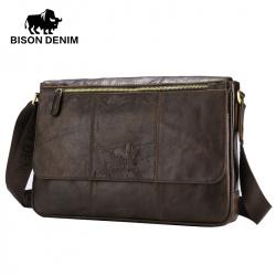 4cead307602e Мужская кожаная сумка для документов Bison Denim