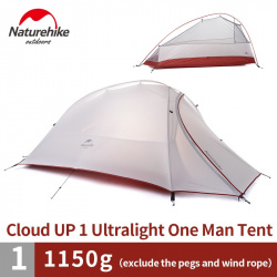 <b>Naturehike Cloud UP</b> 1 - ультралайт полноценная палатка для ...