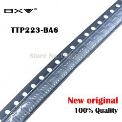 Сенсорная ячейка TTP223B. Включение и выключение нагрузки одной кнопкой без фиксации. Защита от перенапряжения.