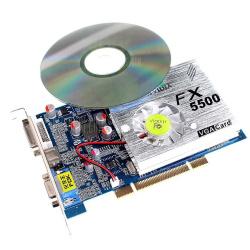 У компа проблема с видеокартой fx 5500
