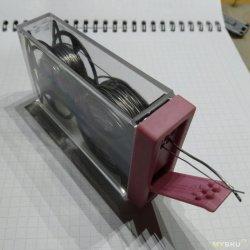 Диспенсер для припоя. Коробочка из фикспрайса + 3Д принтер