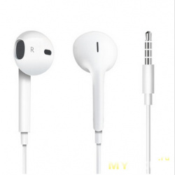 Купон на наушники Apple EarPods 3 4bba869995f5a