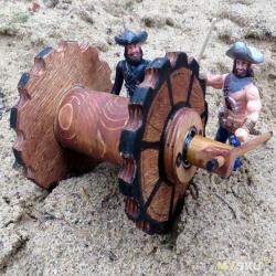 Трактор из детства. Первая резиномоторная модель
