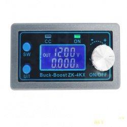 Импульсный регулируемый блок питания на основе DC Buck Boost конвертера ZK-4KX