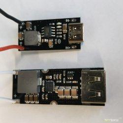 Зарядка Li-ion ip2312 + плата QC3.0 TPS61088