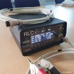 Доведение китайского RLC метра до удобнопользуемого вида