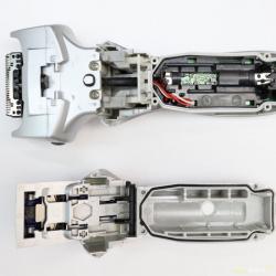 Замена аккумулятора и чистка солей жёсткости в моющейся бритве Panasonic. А также сравнительный тест Трилона Б и Лимонки.