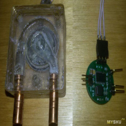 Миниатюрная помпа из мотора от 2.5` HDD