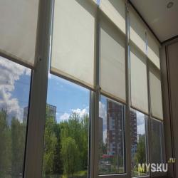 Рулонные шторы в умном доме