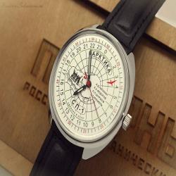 75c3a14a Отзыв о покупке арктических часов Полярника с циферблатом на 24 часа