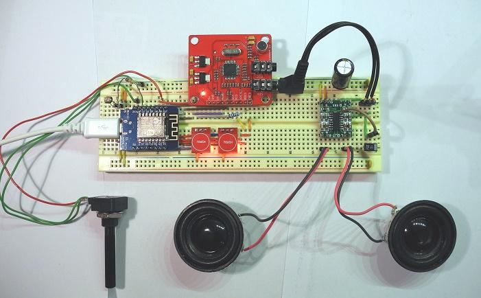 Arduino WebRadio auf dem Steckbrett