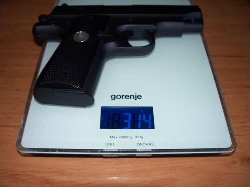 Вес пистолета
