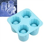 4 Cups Set Shooter Ice Glass Mold Maker
