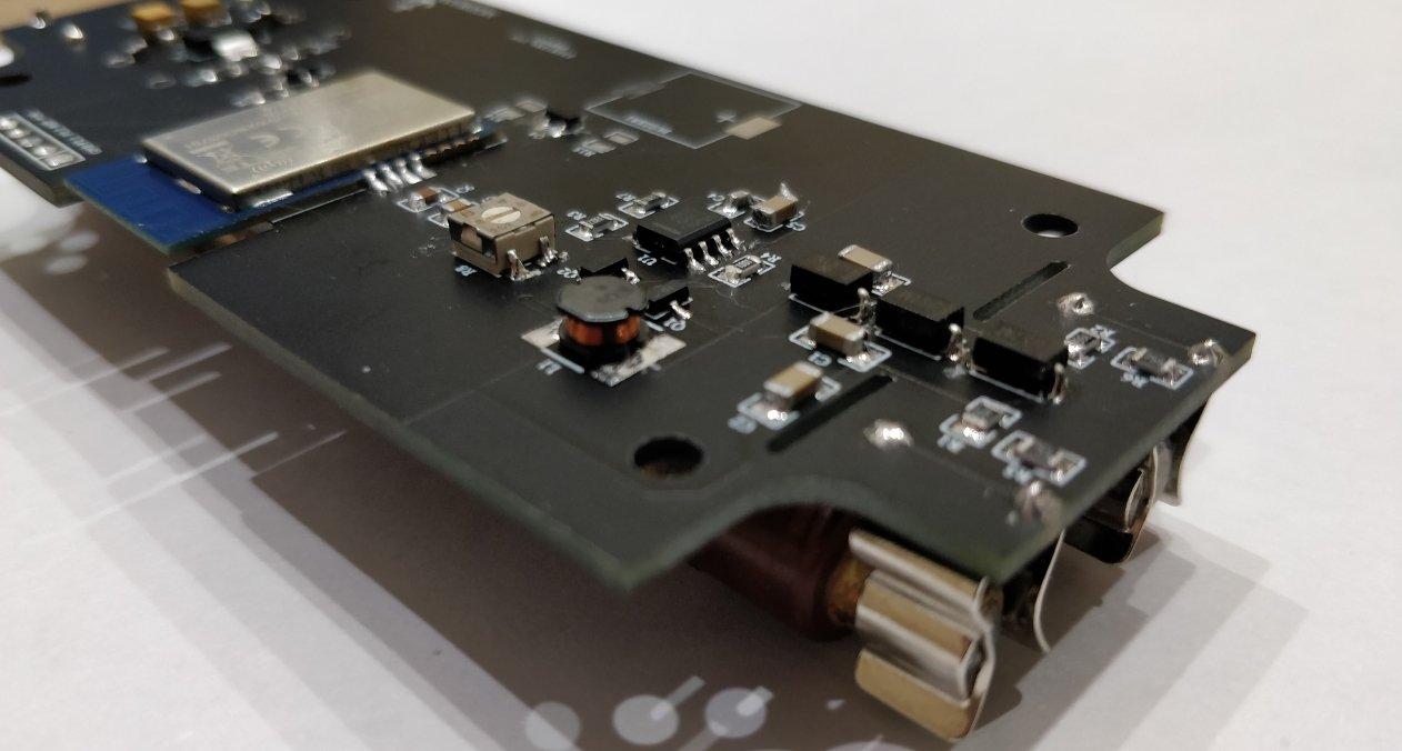 Индикатор радиоактивности c подключением к сети ZIGBEE