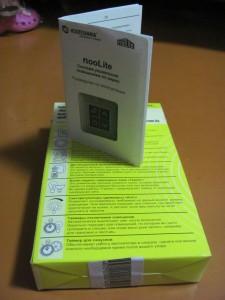 Упаковка и инструкция nooLite