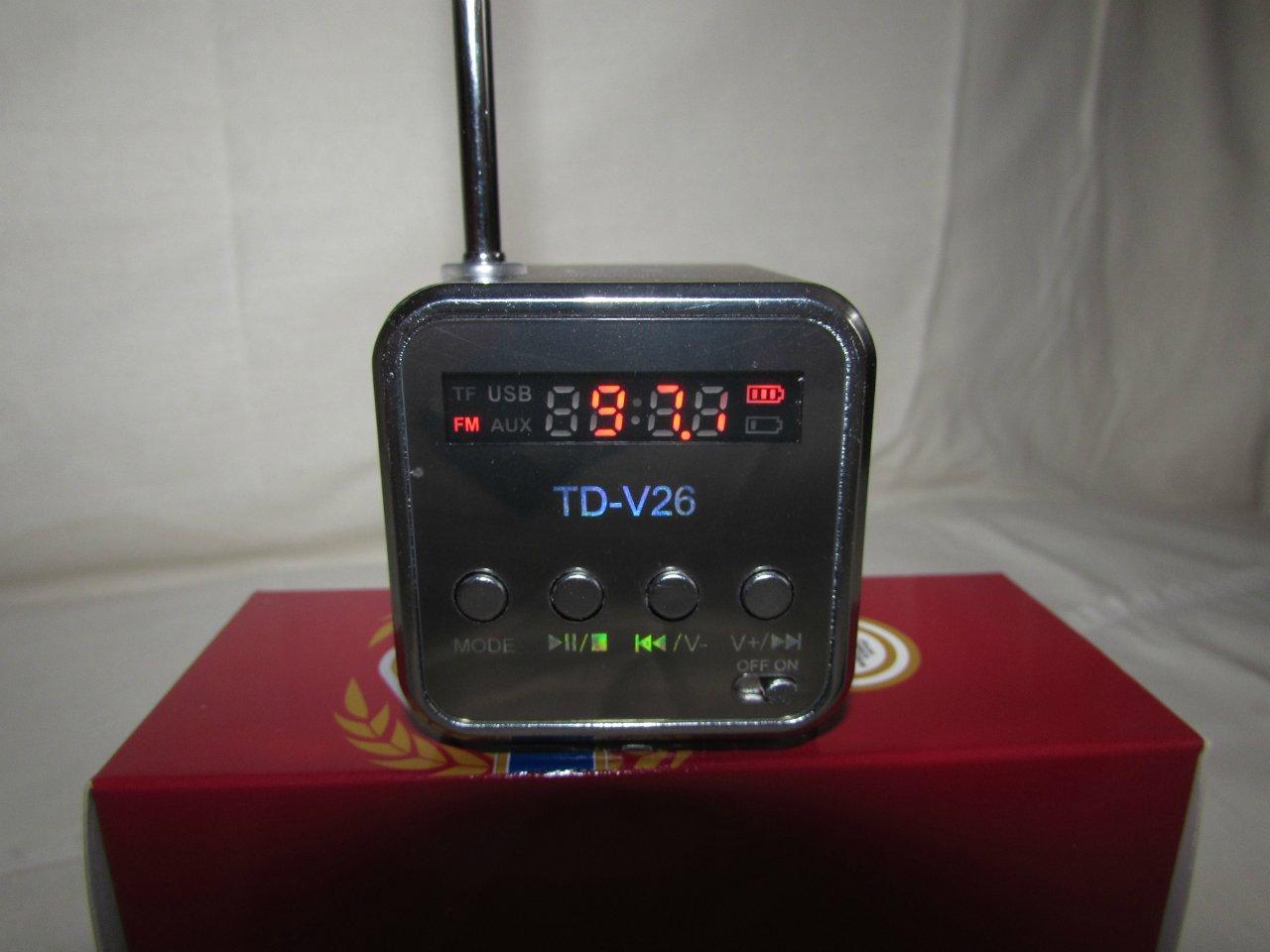 радио td-v26 инструкция