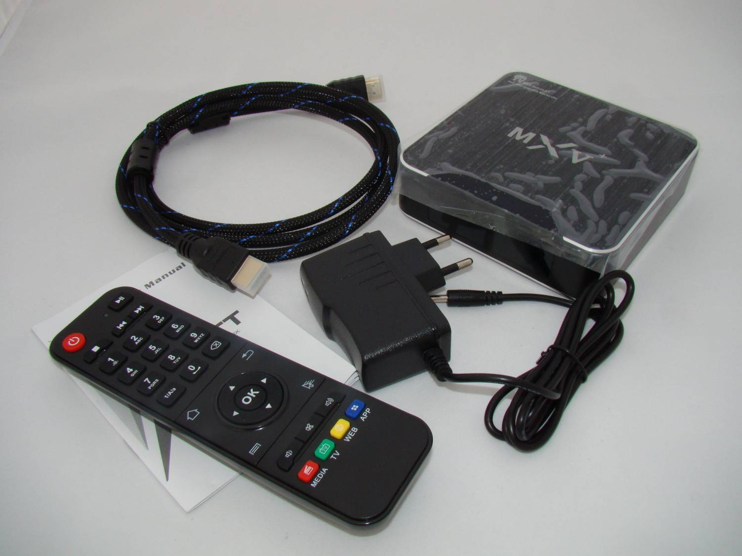 TomTop: MXV+ (MXV Plus) S905 Smart Android TV Box Android 5.1
