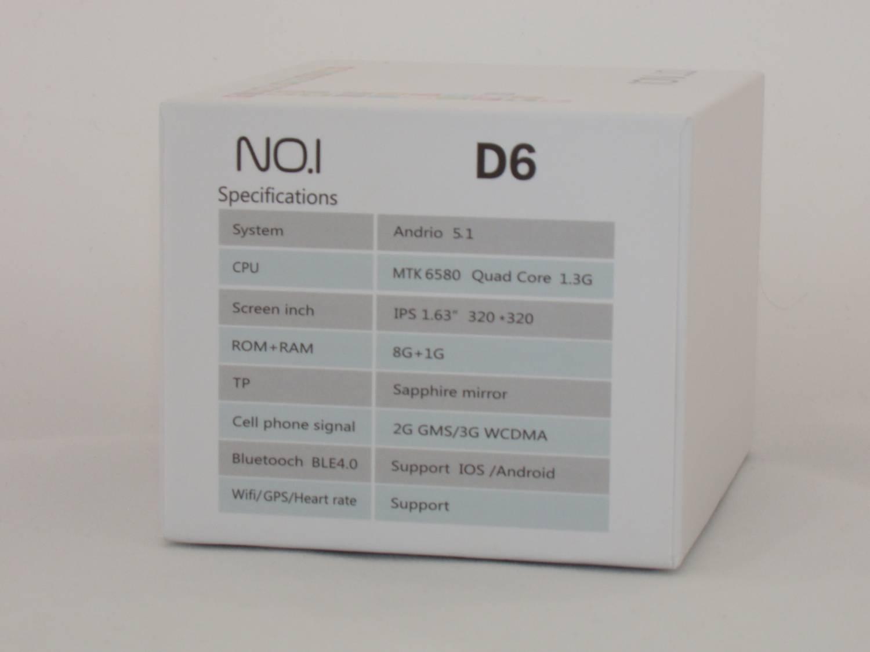 GearBest: No.1 D6 – весьма интересные умные часы.