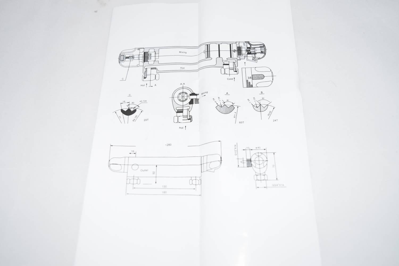 Banggood: Термостатический смеситель