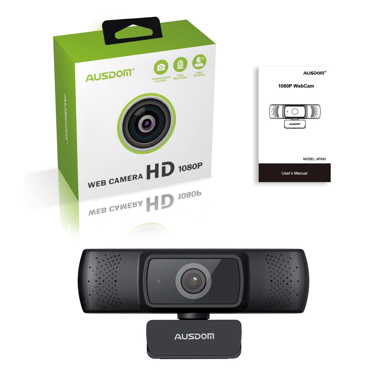 Веб-камера AUSDOM AF640 за 33.6$