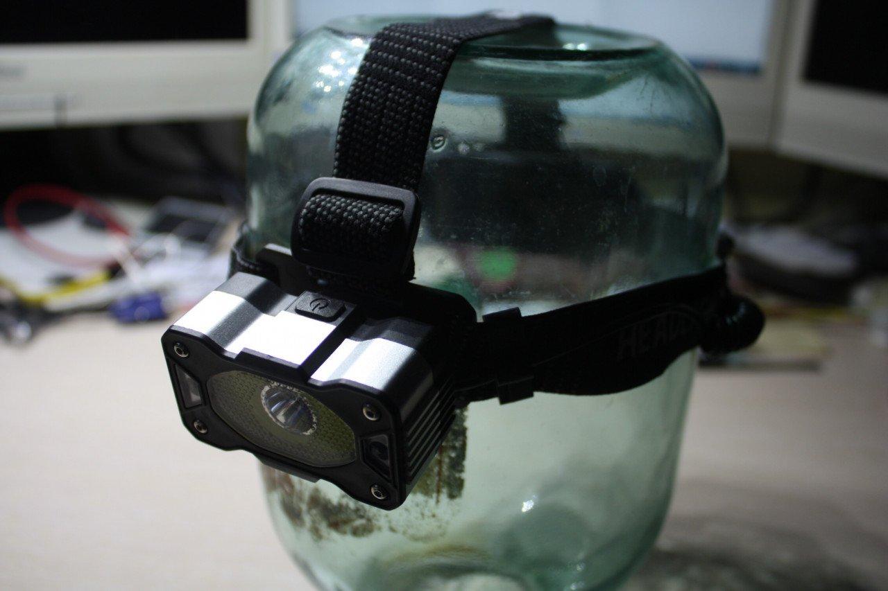 Налобный фонарь XANES HL7 с сенсорным управлением