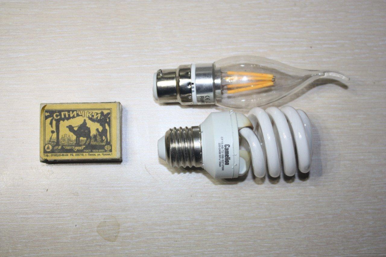 Светодиодная лампа-свечка. Консервируем пламя