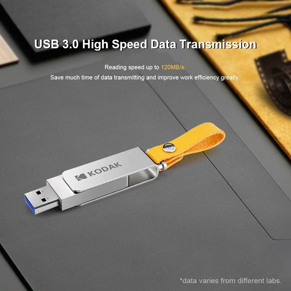 USB 3.0 флешка  KODAK  за  9,49$