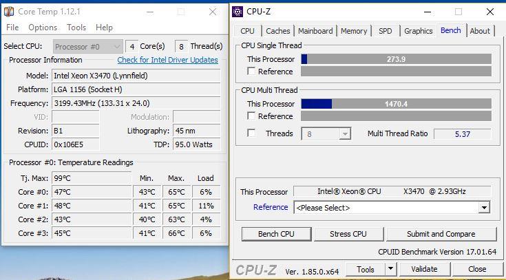 Процессор Xeon x3470 в разгоне  Унижаем современный i7 7700